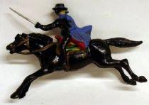 Zorro riding Tornado - JIM figure (loose)