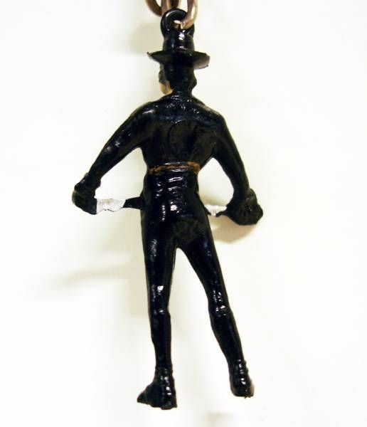Zorro standing with sword in hands - JIM keyring figure (loose)