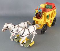 - Cow-Boys - Wild West Stage Coach (yellow)