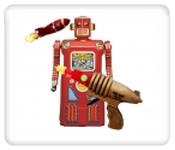 Robots, Space Toys & Space Guns