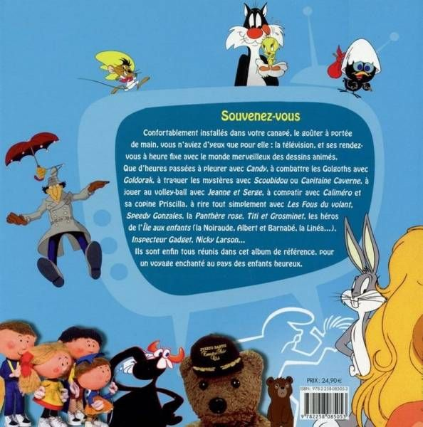 \'\'Nos Dessins animés 70-80\'\' Collector book -By F. Sandis - Editions Hors Collection