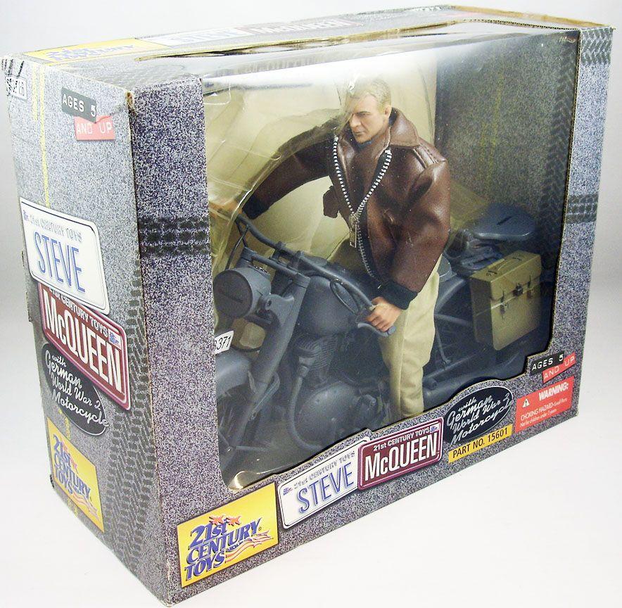 la_grande_evasion___captain_virgil_hilts_steve_mcqueen_sur_moto_allemande___figurine_30cm___21st_century_toys__1_