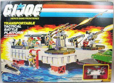 1985 GI JOE Tactical Battle Platform TALL SUPPORT LEG Part Original Hasbro