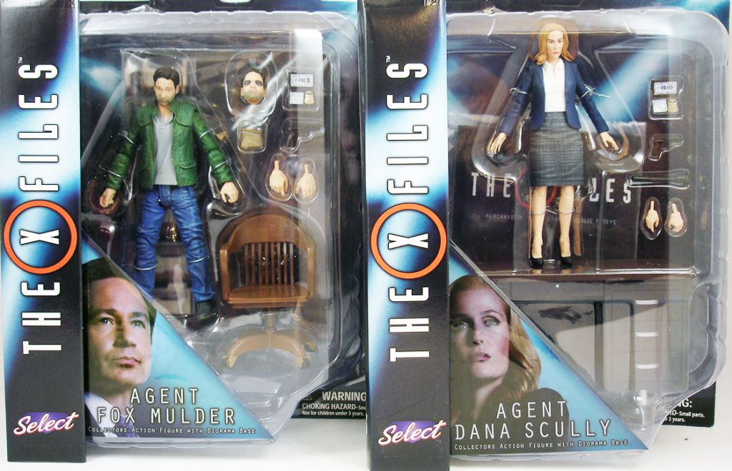 Diamond Select Toys New The X-Files PROMO Agent Dana Scully Action Figure