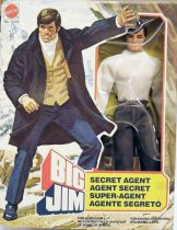 Big Jim Série Espionnage - Big Jim Agent Secret neuf en boite (ref.5098)