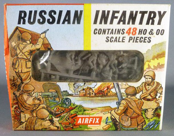 Airfix 72° S17 WW2 Russe Infanterie Boite type1 (occasion)