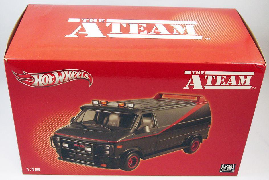 Agence tous risques (A-Team) - Mattel Hot Wheels Elite - Van GMC de Barracuda 1/18ème