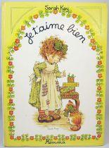 Sarah Kay - Je t'aime bien - Editions Hemma 1978