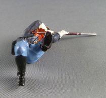 Elastolin - Us cavalerie - Piéton tireur fusil genoux (réf 7020)