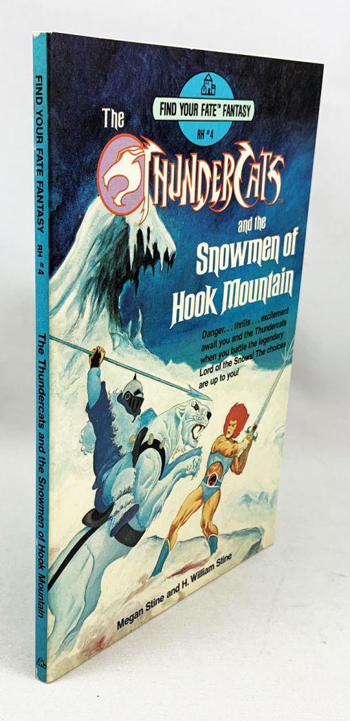 Thundercats - Find Your Fate Fantasy (RH#4) - Thundercats and the Snowmen of Hook Mountain - Random House 1985