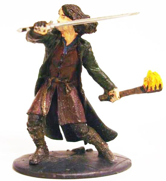 The Lord of the Rings - Eaglemoss - #003 Aragorn at Weathertop