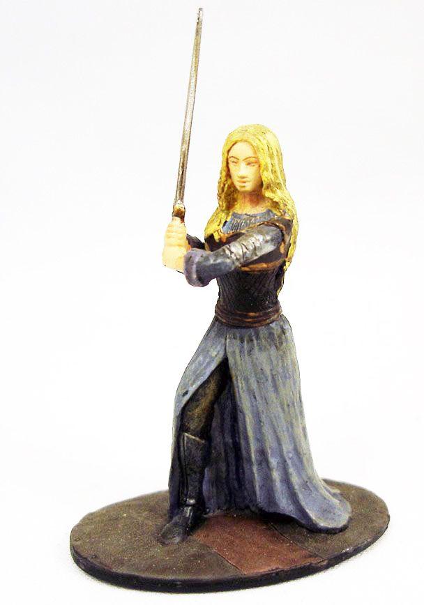Le Seigneur des Anneaux - Eaglemoss - #024 Eowyn à Edoras