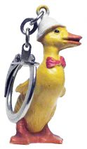 Dynamo Duck - Jim Figure Key Chain - Colonial Hat