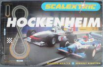 Scalextric C1020  - Coffret Circuit Hockenheim Mc Laren Renault Benetton Transfo Poignées Piste