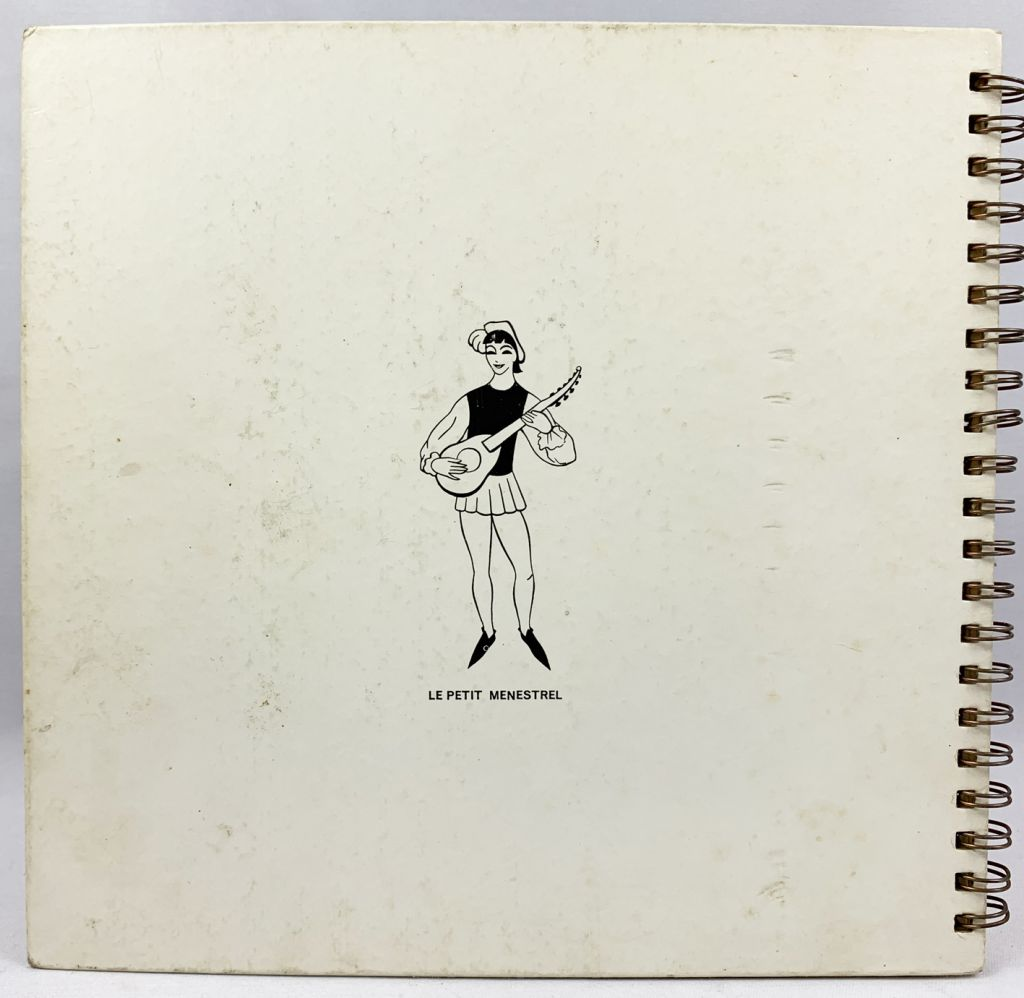 101 Dalmatians - Record-Book 33s Le Petit Ménestrel (1961) - Story told by François Périer