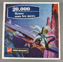 20 000 Lieues sous les mers - Pochette de 3 Disques View-Master 3D