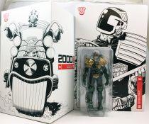 2000 A.D. - 3A 1:12 scale action-figure - Judge Dredd & Lawmaster Mk1