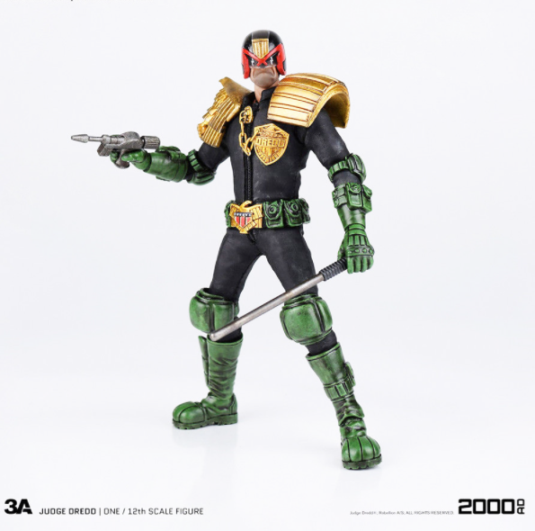2000 A.D. - 3A 1:12 scale action-figure - Judge Dredd