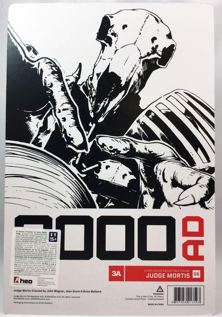 2000 A.D. - 3A 1:12 scale action-figure - Judge Mortis