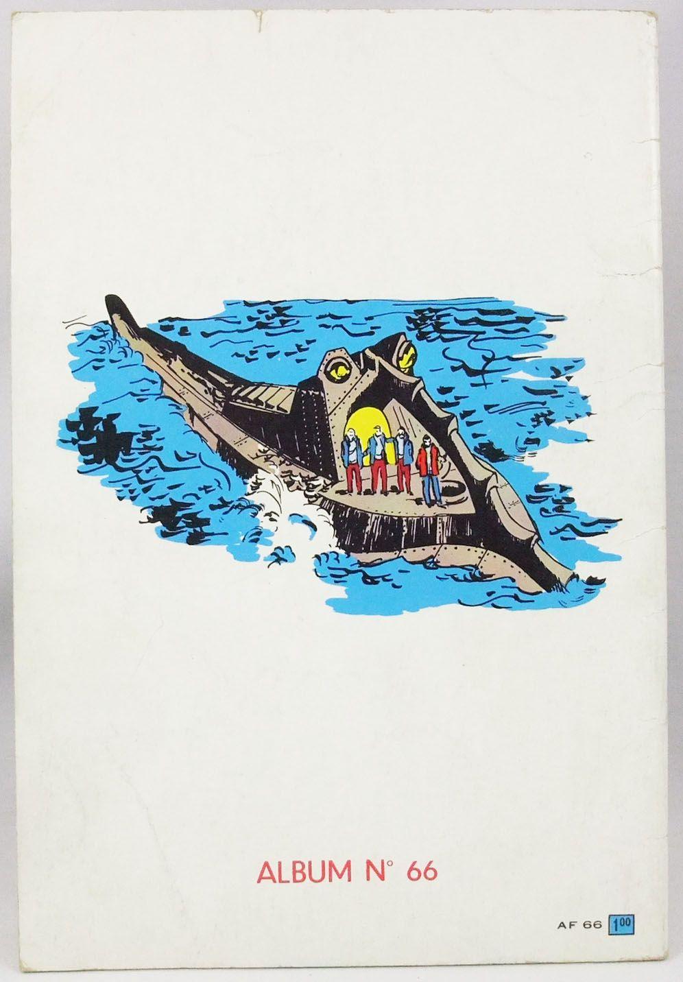 20.000 lieues sous les mers - Bande dessinée - Album Walt Disney présente n°66 - 1966