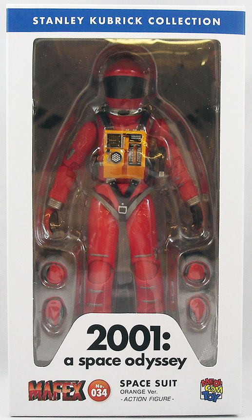 MAFEX SPACE SUIT ORANGE Ver 2001 A Space Odyssey Action Figure from Japan*
