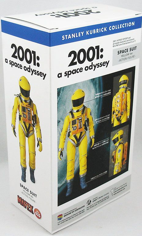 MAFEX 2001 A Space Odyssey Space Suit Yellow Ver Action Figure kubrick