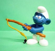 20101 Fisherman Smurf (ochre fishing rod)