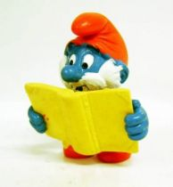 20174 Papa Smurf with magical book (Silan advertising)