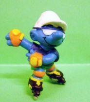 20442 Roller Blade Smurf