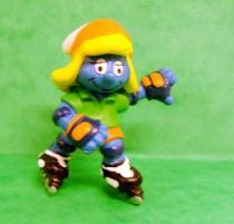 20443 Roller blade Smurfette