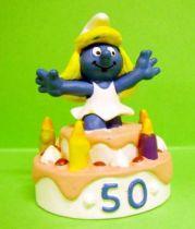 20704 50th anniversary series Surprise Smurfette