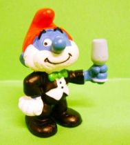 20706 50th anniversary series Papa Smurf in Celebration suit