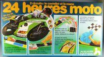 24 Heures Moto Circuits Castellet Le Mans - Jeu de Plateau - Nathan 1981