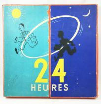 24 Hours - French 1950\'s Board Game