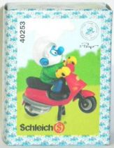 40253 Smurf with scooter (Mint in New Look Box)