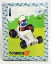 40256 Smurf Race Car Driver (Metallic)