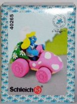 40265 Smurfette with pink car (Mint in New Look Box)