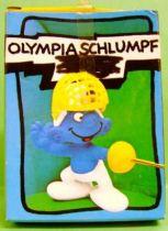 40504 Fencer Smurf (golden foil) Mint in box