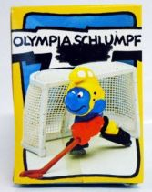 40505 Smurf Ice Hockeying with cage (Mint in Box)