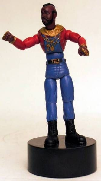 A -Team - Mint in box Push Puppet figure - B.A. Baracus