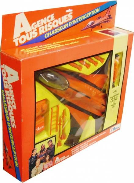 A-Team - Galoob Mint in box vehicule - Interceptor Fighter with Howling Mad Murdock