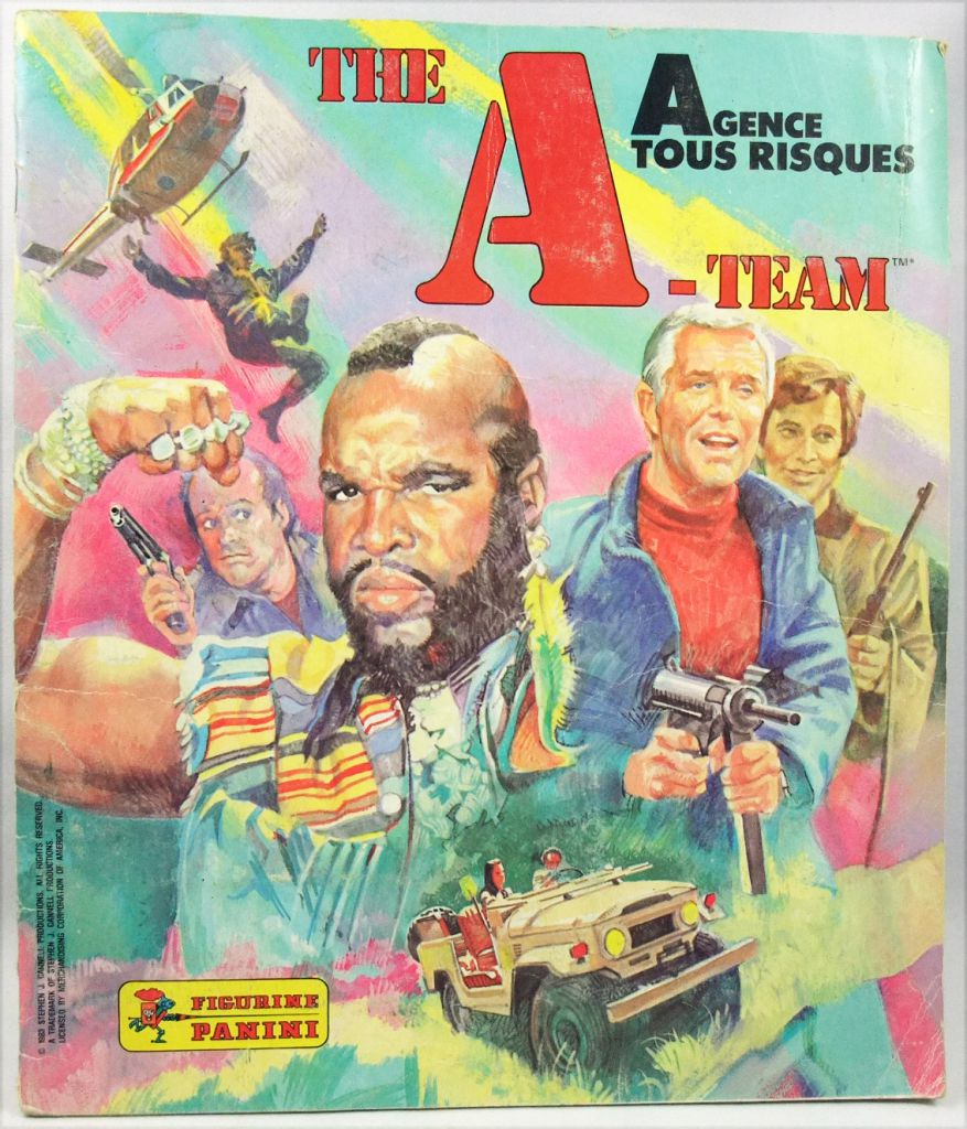 A-Team - Panini Stickers collector book