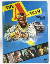 A-Team (l\'Agence Tous Risques) Annual 1987 (World Int. Publishing Ltd)