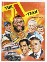 A-Team (l\'Agence Tous Risques) Annual 1988 (World Int. Publishing Ltd)