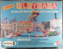 Abax France - Playrama - Decoville La Ville en 24 Scènes 43° Dinky Solido Norev