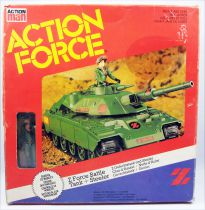 Action Force - Force Z - Battle Tank / Char d\'Assaut