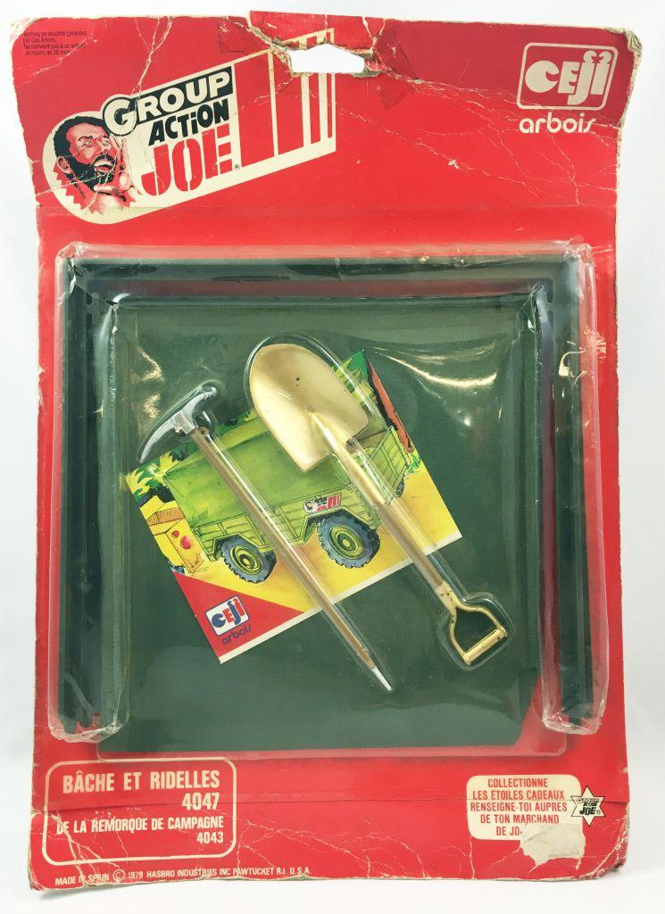 Action Joe - Bâche et Ridelles - Ceji - Réf 4047