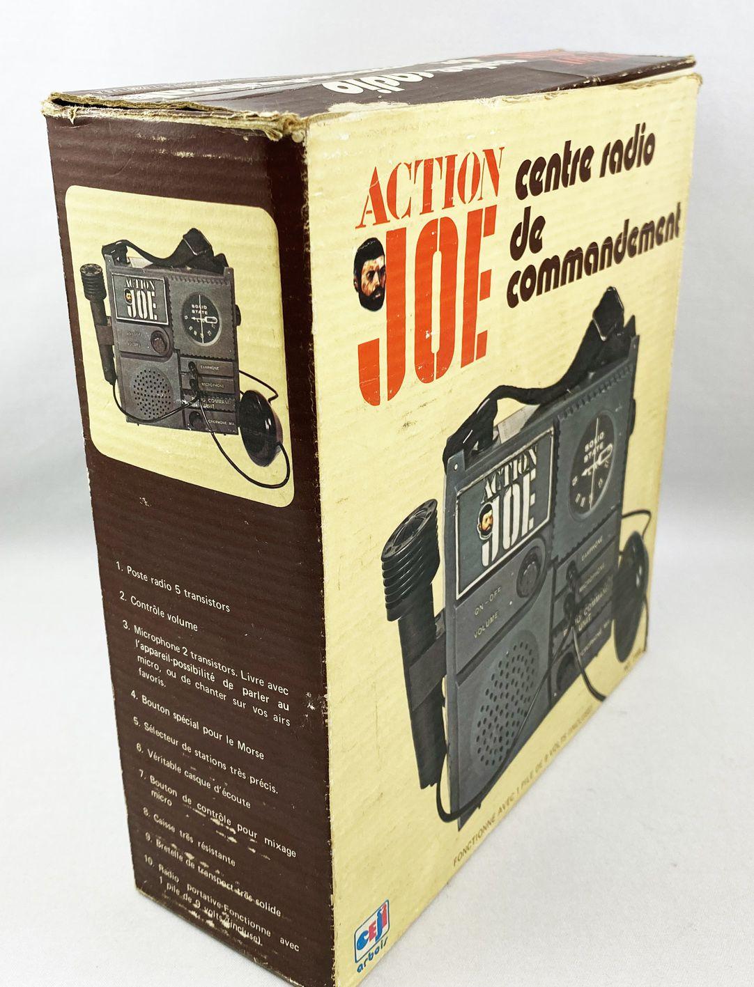 Action Joe - Centre Radio de Commandement - Ref.7518