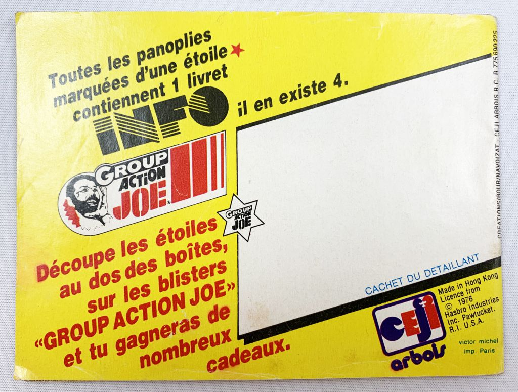 Action Joe - Lynx Eye - Ceji - Ref 7946