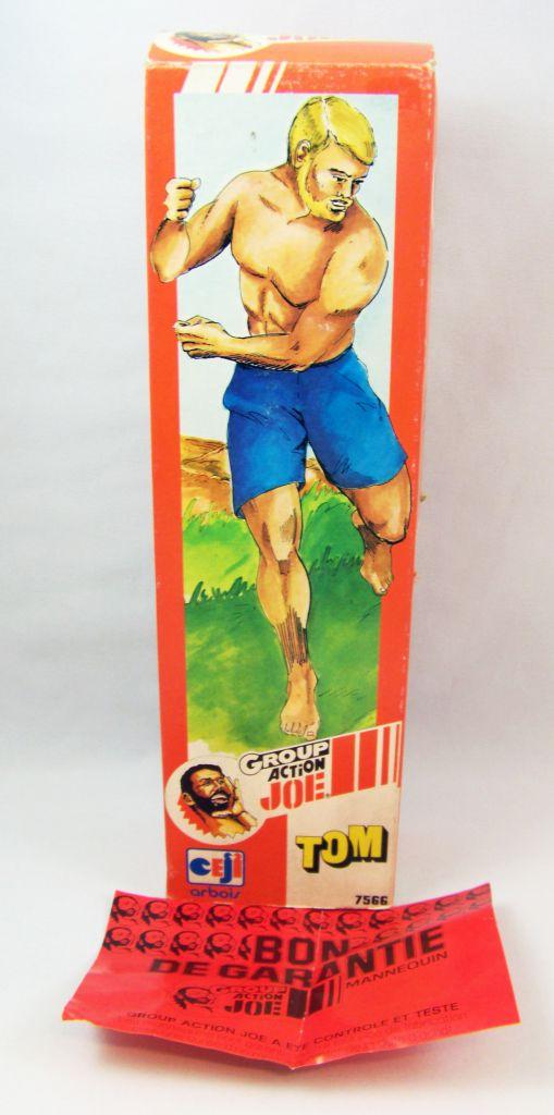 Action Joe - Tom - Ceji (Group Action Joe) 1980 - Réf 7566 (occasion avec boite)